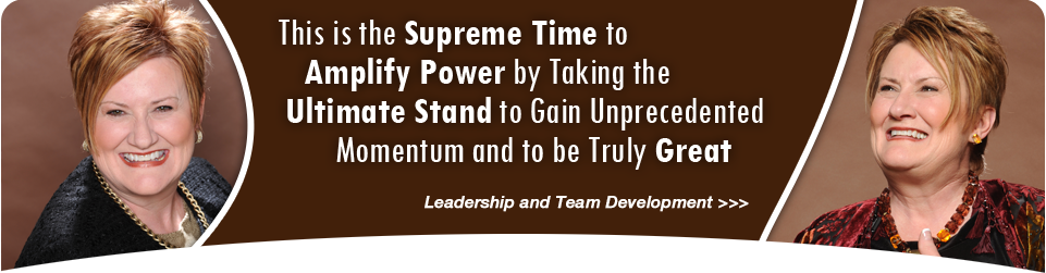 This is the supreme time to amplify power by taking the ultimate stand to gain unprecedented momentum and to be truly great.
